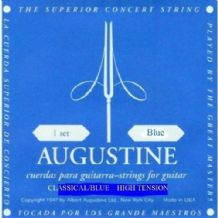 AUGUSTINE CLASSIC BLUE HIGH TENSION CLASSICAL GUITAR STRINGS